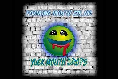 Yuck Mouth Drops